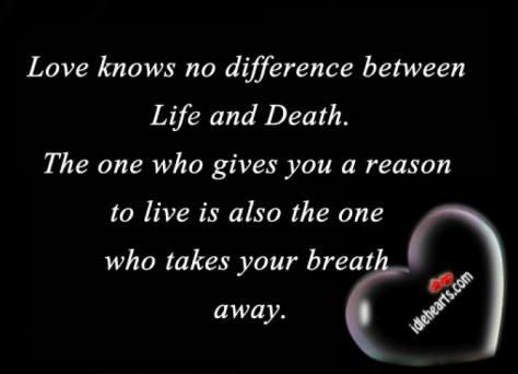Love And Death Quotes Photo